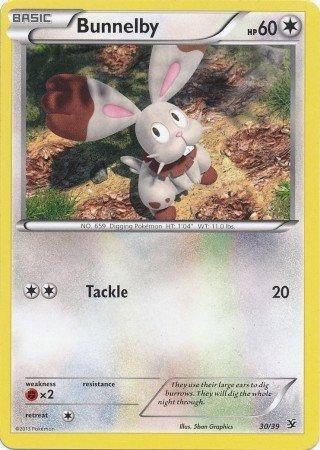 Pokemon - Bunnelby 3039 - XY Kalos Starter Sets