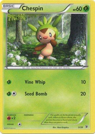 Pokemon - Chespin 339 - XY Kalos Starter Sets