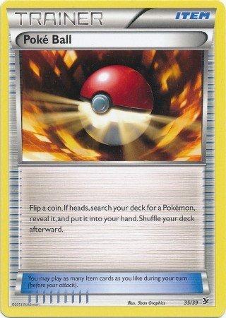 Pokemon - Poke Ball 3539 - XY Kalos Starter Sets