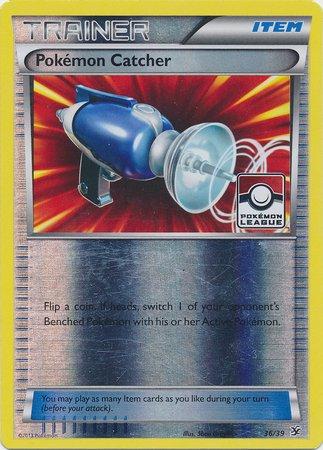 Pokemon - Pokemon Catcher 3639 - XY Kalos Starter Sets - Reverse Holo - League Promo