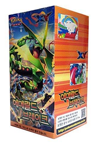 POKEMON CARD XY Emerald brake Booster Box  Korean Ver  30 Booster Pack