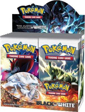 Pokemon Card Game Black White BW Series 1 Booster Box 36 Packs
