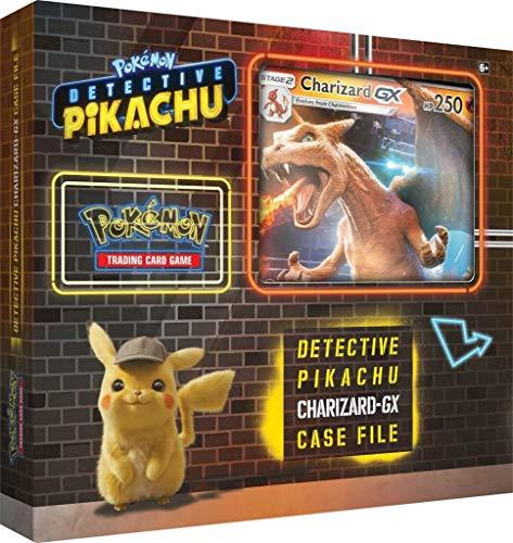 Pokemon TCG Detective Pikachu Charizard-Gx Case File  6 Booster Pack  A Foil Promo Card  A Foil Oversize Card
