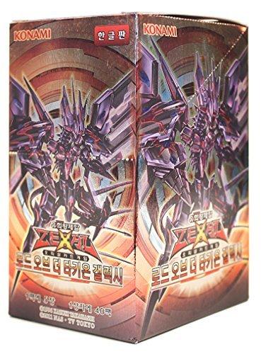Yu-Gi-Oh Konami Yugioh Card ZEXAL Booster Pack Box OCG 200 Cards Lord of the Tachyon Galaxy Korea Version