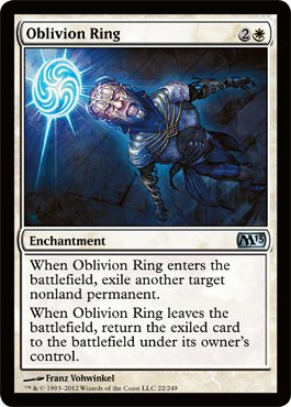 Magic the Gathering - Oblivion Ring 22 - Magic 2013 - Foil