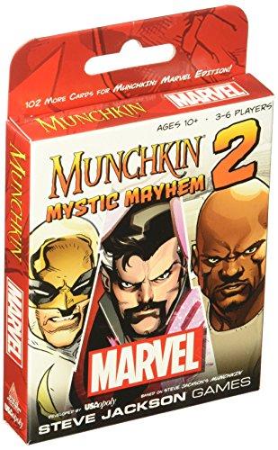 Munchkin Marvel 2 Mystic Mayhem Board Game