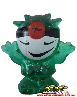 Magic Box Int 80 Kivu Green Glitter GogoS Crazy Bones Series 2 Evolution Bra