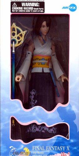 Final Fantasy X Yuna 16 Scale Model Figure No2