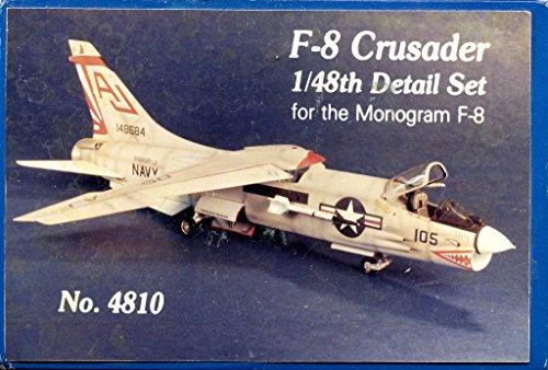 HighFlight Replicas 148 F-8 Crusader Resin Detail Set for Monogram Kit 4810