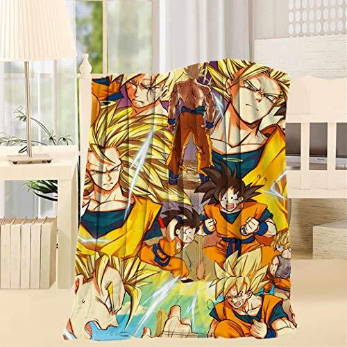 XIANN Dragon Armor Fighter Ball Coral Fleece Blanket Velvet Cozy Soft Warm Sofa Blanket Quilt