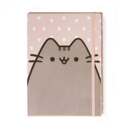 Enesco Pusheen The Cat Polka Dot Notebook Journal Pink