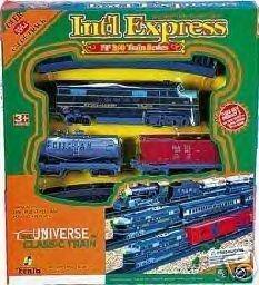 Intl Express Battery Operated Train Set 19 Pieces Fenfa FF B0 Train Series International Express