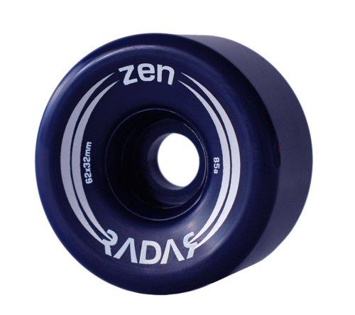 Radar Zen Blue Outdoor Skate Wheels - 85A Riedell Roller Skate Wheel
