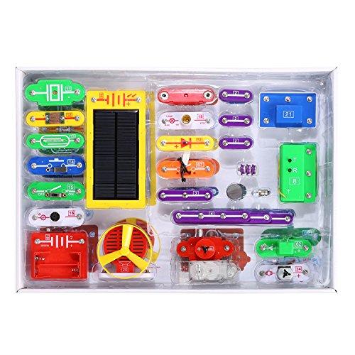Arshiner Electronics Discovery KitSmart Electronics Block Kit Educational Science Kit Toy Best DIY Toy
