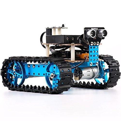 Makeblock DIY Starter Robot kit - Premium Quality - STEM Education - Arduino - Scratch 20 - Programmable Robot Kit for Kids to Learn Coding Robotics and Electronics IR Version