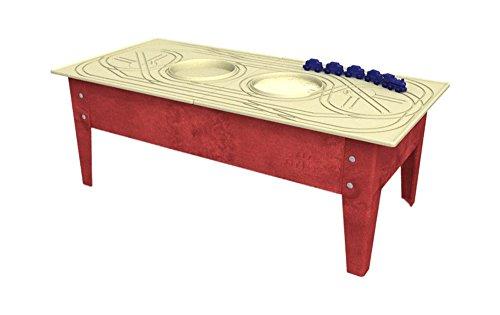 Childbrite Toddler Activity Table with Blue Streak Red Frame