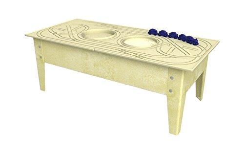 Childbrite Toddler Activity Table with Blue Streak Sandal Frame