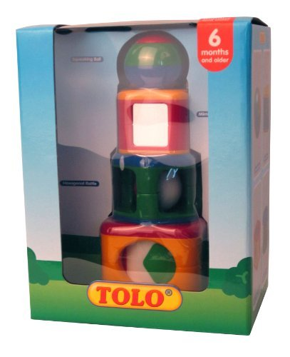 Tolo Toys Stacking Activity Shapes by Tolo