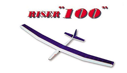 SIG RISER 100 GLIDER KIT Model Airplane Unassembled Kit Die Cut Parts Easy Build RC Aircraft