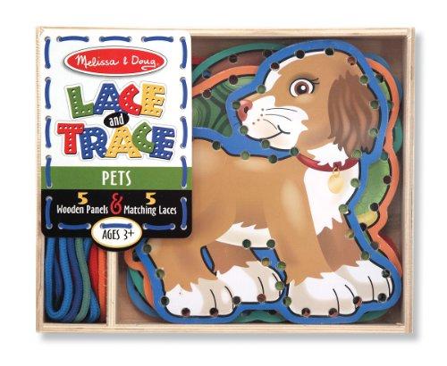 Melissa Doug Lace Trace Pets 3782