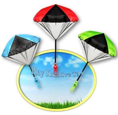Light Up Paratrooper Parachute - Play Kreative TM