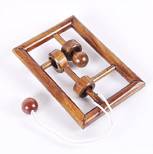 KAILIMENG Wooden String Brain Teaser Puzzle