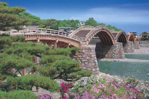 Yamaguchi 23-535 - 2016 piece Kintai Bridge super master of the puzzle japan import