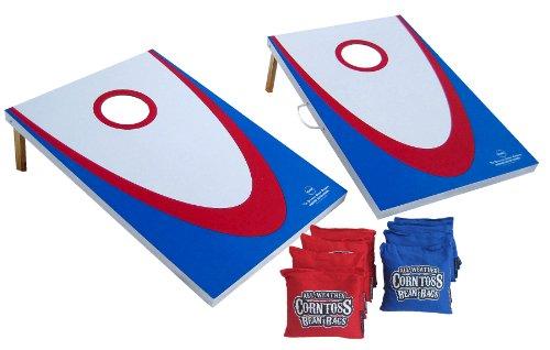 Cornhole Board Game Set Backyard Edition