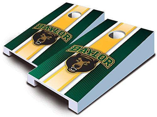 BAYLOR BEARS Striped TABLETOP Desktop Cornhole Boards Game Set Bean Bag Tailgate Toss Mini Miniature