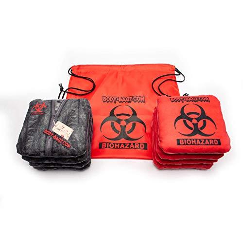 Body-Bag Cornhole Bags Set of 8 Official Regulation - Bossette Boutique