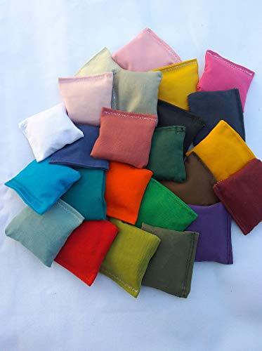 EmbroideryByZevotek Mini Cornhole Bags 2 inches