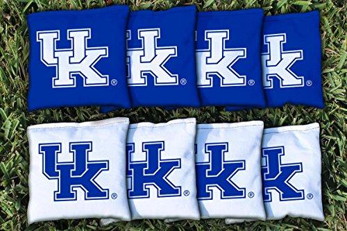 Kentucky UK Wildcats Replacement Cornhole Bag Set all weather