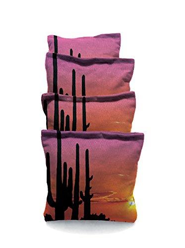 Catus Sun Set Standard Custom Corn Hole Bags Cornhole Bags