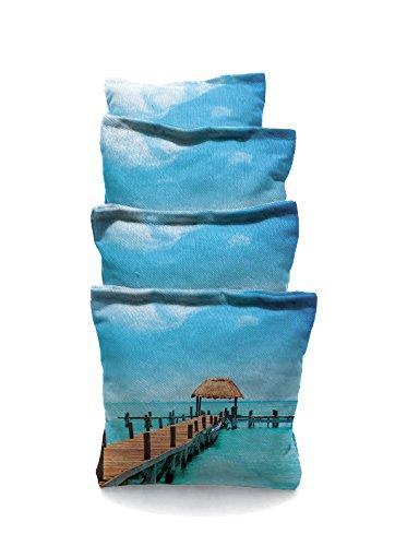 Long Dock Standard Custom Corn Hole Bags Cornhole Bags