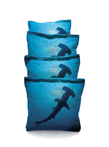 Shark 1 Standard Custom Corn Hole Bags Cornhole Bags