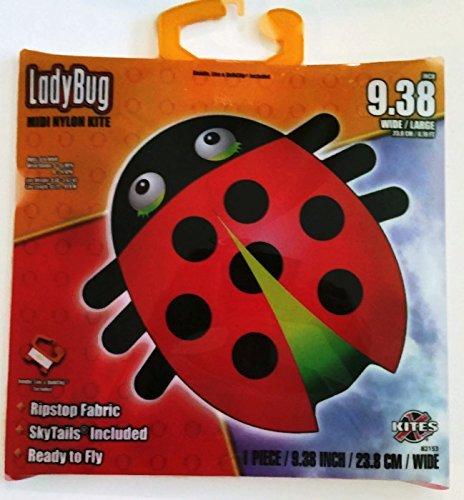LadyBug Midi Nylon Kite