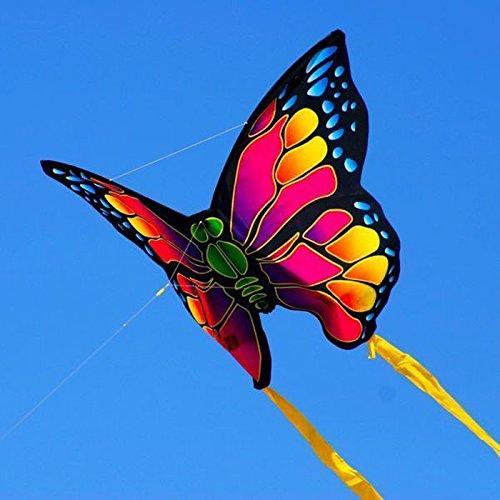 X-Kite Mini Nylon Kite w String BUTTERFLY 22 Inch Wingspan