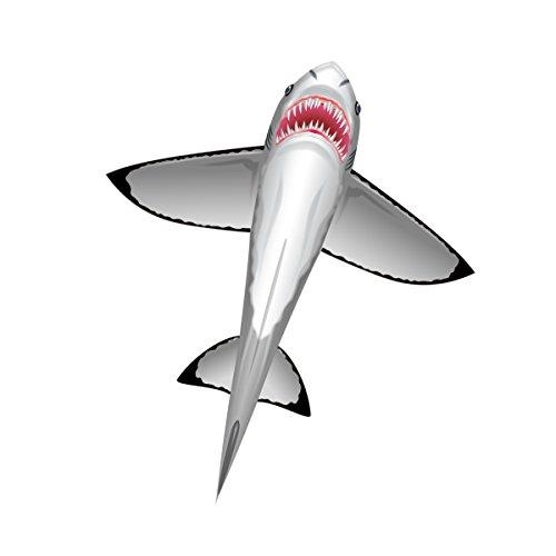 X-Kites WindNSun SeaLife Great White Shark Nylon Kite 60