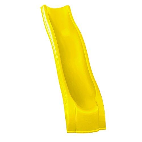 Swing-N-Slide WS 8201 Apex Wave Slide for 4 Swing Set Decks with Yellow