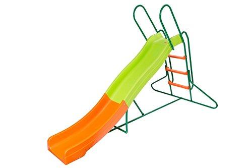 Platports 8 FT Freestanding Backyard Wavy Water Slide for Children whether Small ToddlerBig kid  -Inoutdoor Playground Equipment for Home Preschool ChildDaycare School