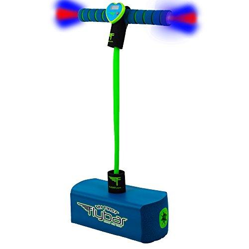 Flybar My First Foam Pogo Jumper Safe Pogo Hopper for Kids Ages 3 Up Blue LED
