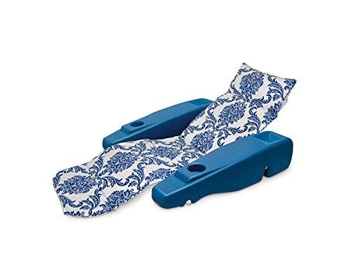 Sapphire Flourish Royal Hawaiian Adjustable Floating Swimming Pool Chaise Lounge