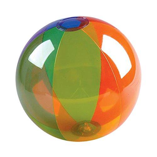 Rhode Island Novelty 16 Rainbow Inflatable Beach Ball 12 Piece Per Order