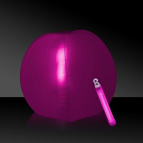 Glow in the Dark Beach Ball - 12 Pink 1 Each