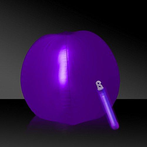 Glow in the Dark Beach Ball - 12 Purple 1 Each