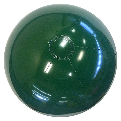 Beachballs - 24 Solid Dark Green Beach Ball