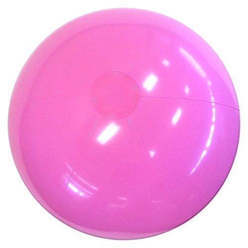 Beachballs - 24 Solid Pink Beach Balls