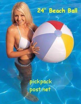 Beachball 24inch Splash and Play Beach Ball by Splash and Play