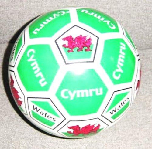 Inflatable Wales Welsh Cymru PVC Plastic Football Play Beach Ball Kid Boy Girl Party Child Pool Birthday Garden Summer Fun 23cm by Concept4u