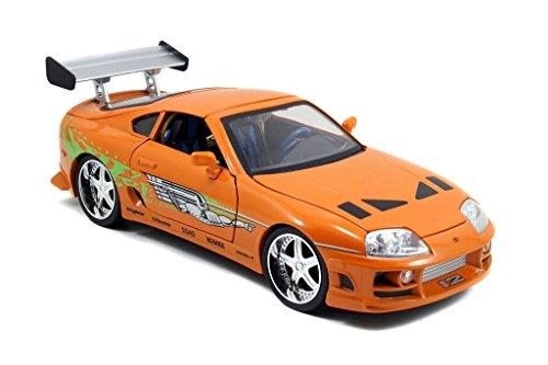 Jada Toys Fast Furious Toyota Supra 118 Diecast Vehicle Orange